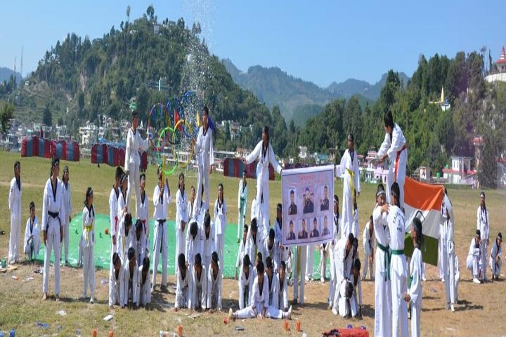 General B C Joshi Army Public School-Human Pyramid