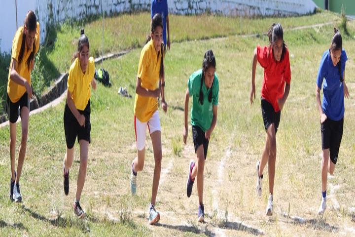 General B C Joshi Army Public School-Sports