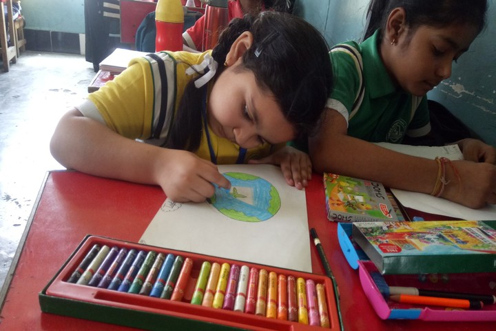 Genesis International School-Drawing Competition