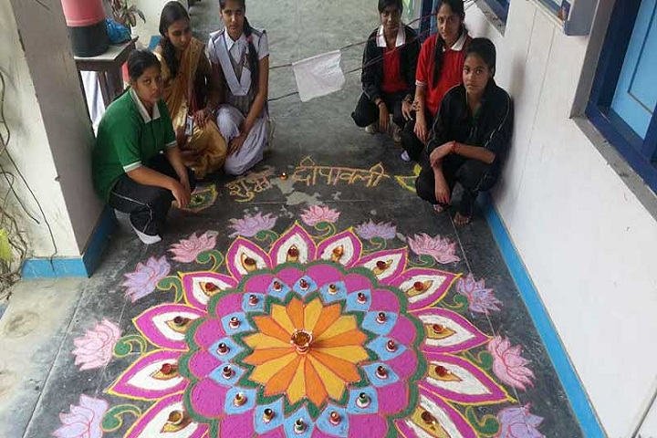 Great Mission Public School-Rangoli