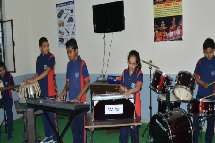 Green Mount Global School-Music Class