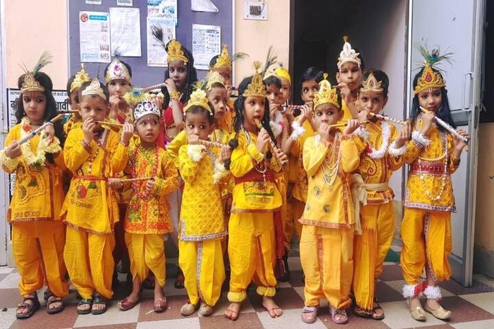 Green Wood Public School-Krishnastami Celebrations
