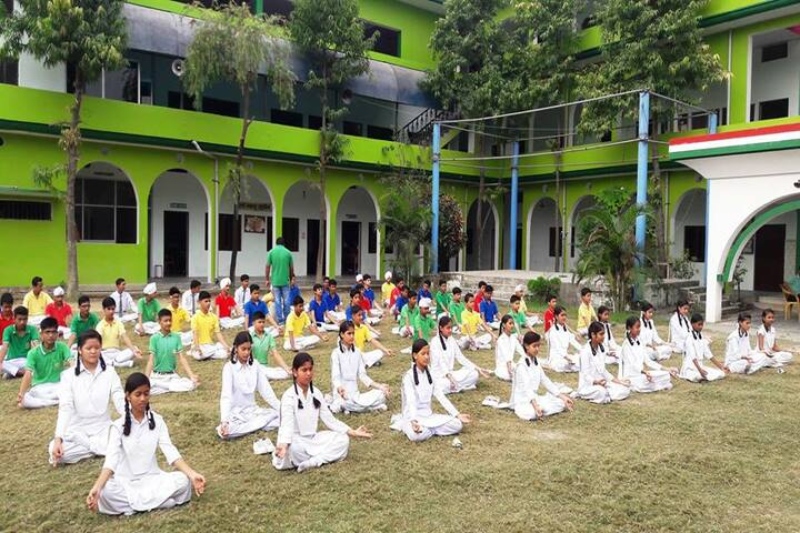 Green Wood Public School-Yoga