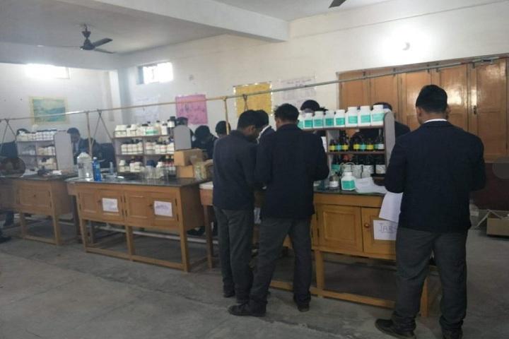 Green World Public School-Chemistry lab