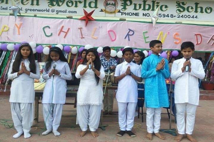 Green World Public School-Childrens day