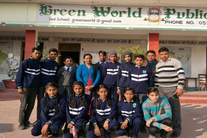 Green World Public School-Group photo