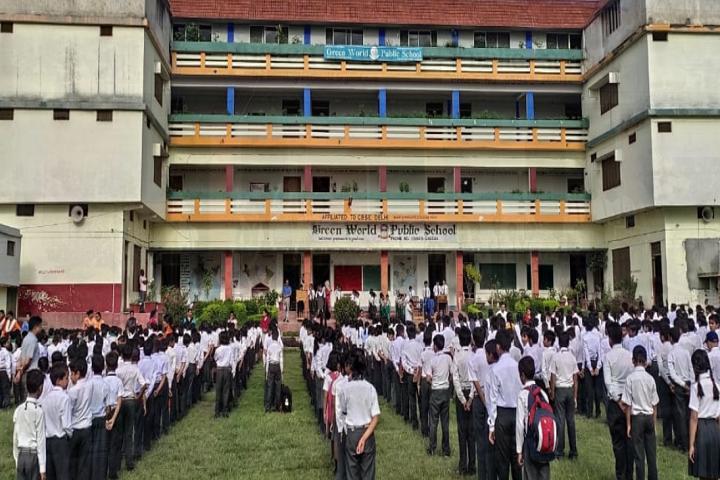 Green World Public School-Assembly
