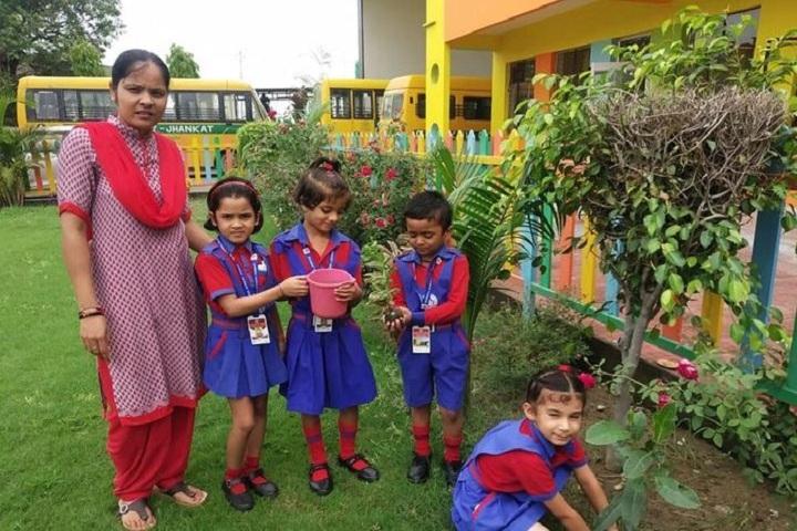 Gurukul Academy-Tree Plantation