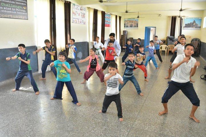 Gurukul International School-Karate