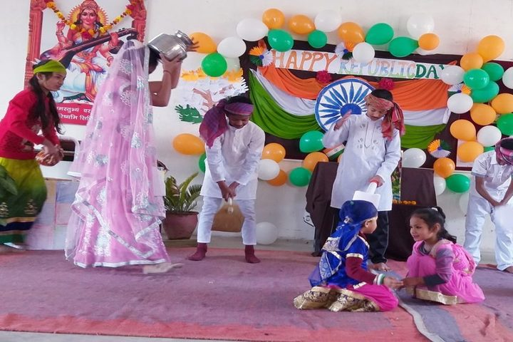 Happy Home Montessori School-Republic Day