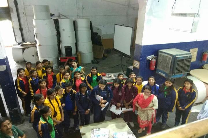 Heera Kunwar Public School-Industrial Visit