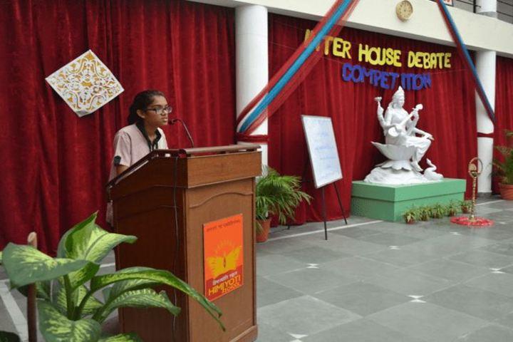 Him Jyoti School-Debate