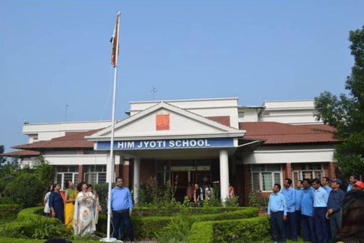 Him Jyoti School-Independence Day