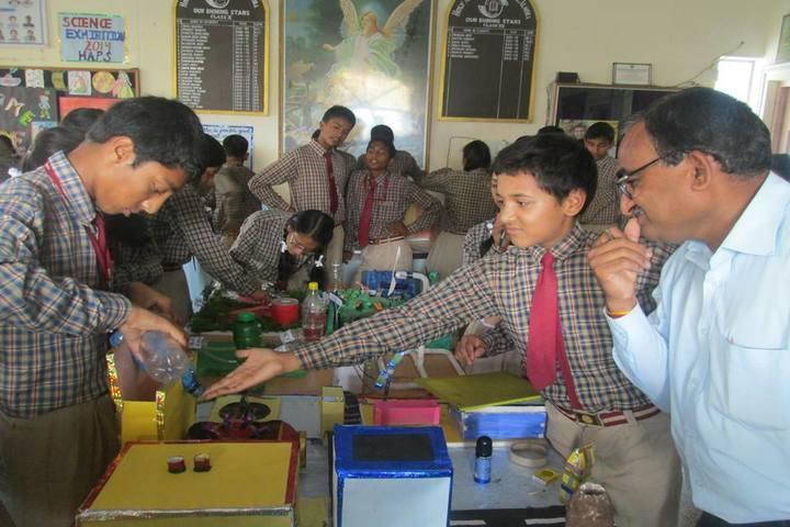 Holy Angel Public School-Science Exhibition