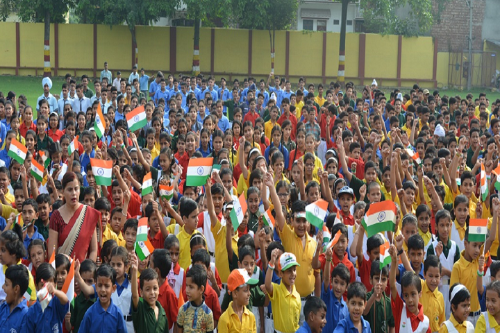 Holy Cross School-Republic Day