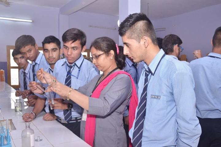 Holy Ganges Public School-Chemistry Lab