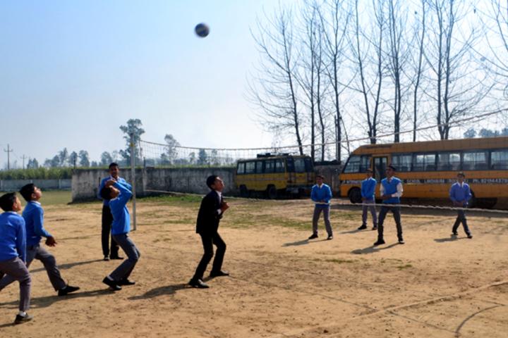 J P International Public School-Sports