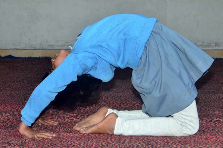 J P International Public School-Yoga