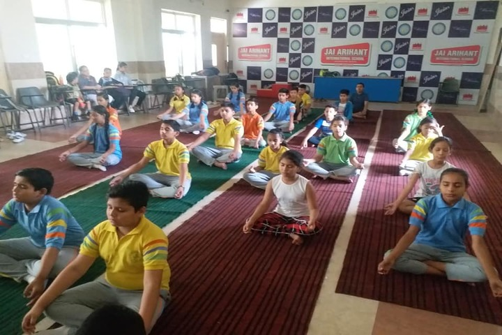 Jai Arihant International School-Yoga