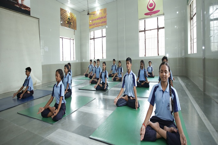 Jaycees Public School-Yoga Class
