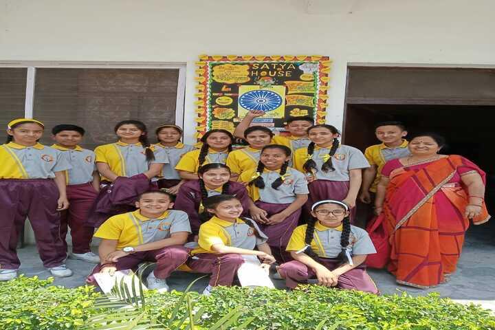 Jim Corbett School-Inter House Team