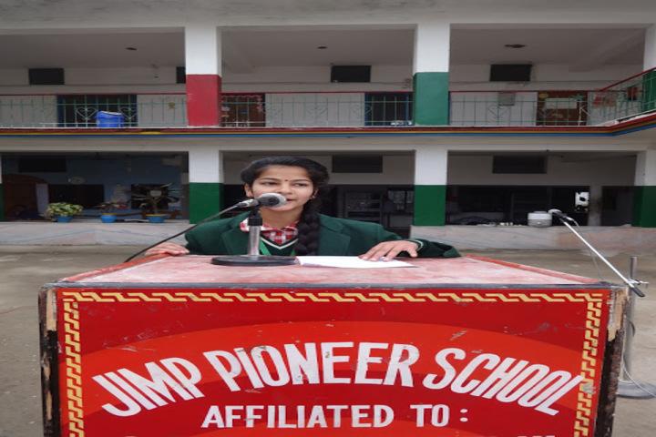 Jimp Pioneer School-Speeches