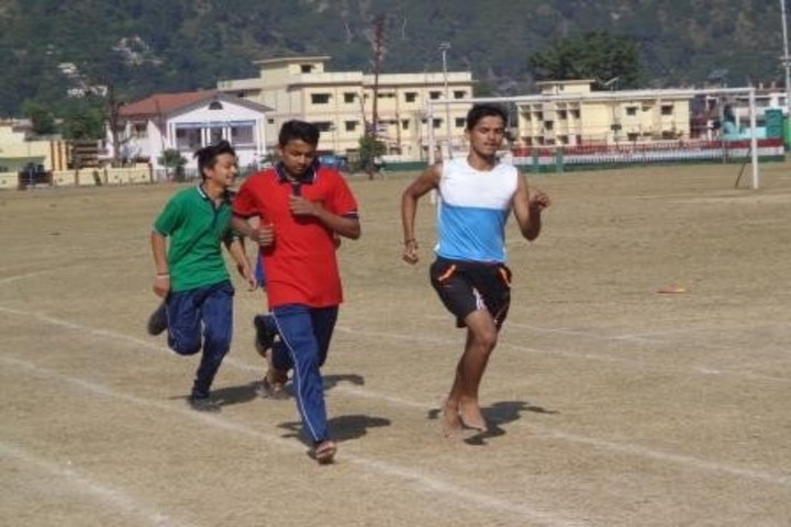Kendriya Vidyalaya-Running Race
