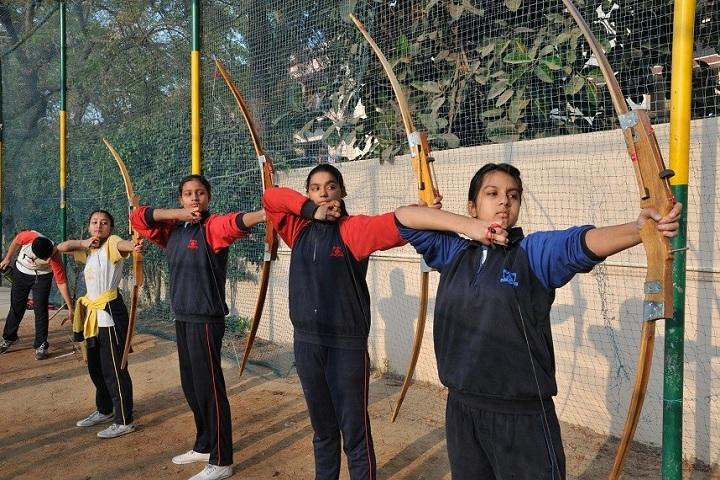 Saupins School-Archery