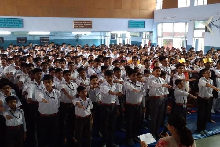 Sharda Sarvhitkari Senior Secondary School-Prayer