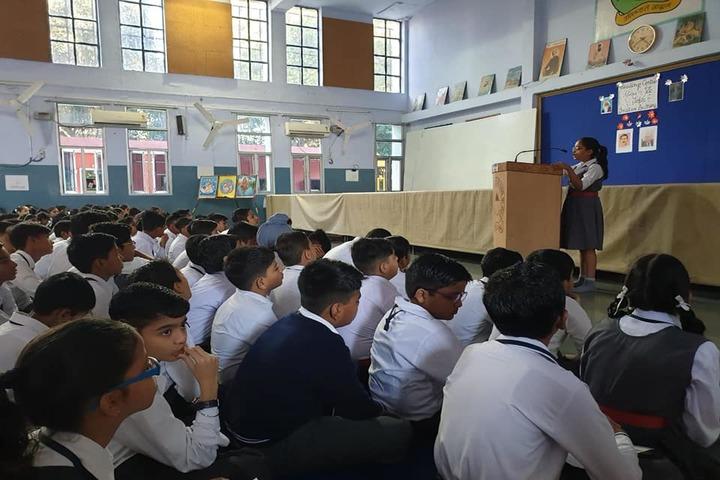 Sharda Sarvhitkari Senior Secondary School-Speech