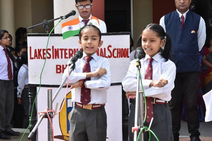 Lakes International School-Singing Competition