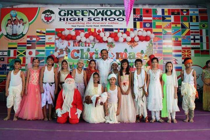 Greenwood High School-Christmas Celebrations