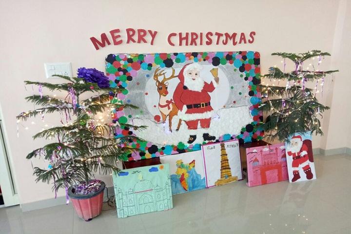 Maa Saraswati Public School-Christmas Celebration