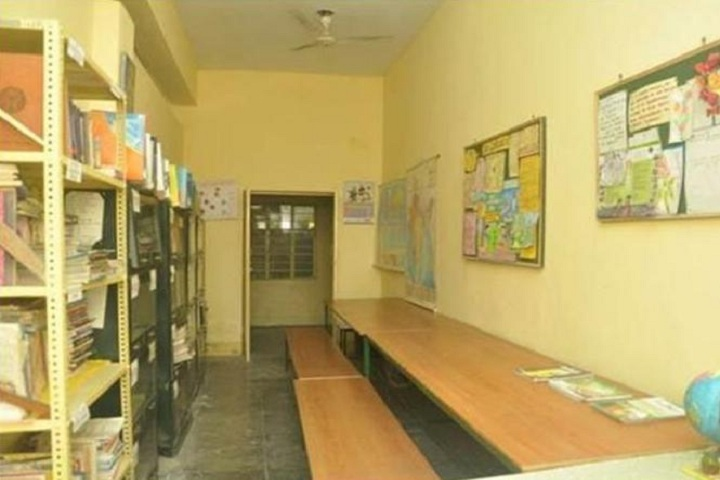 Maharishi Vidhya Mandir-Library