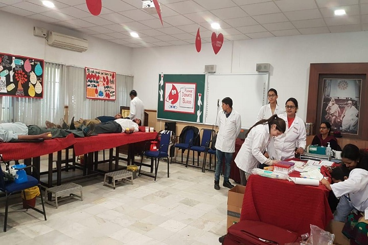Sri Aurobindo School-Blood Donation Camp
