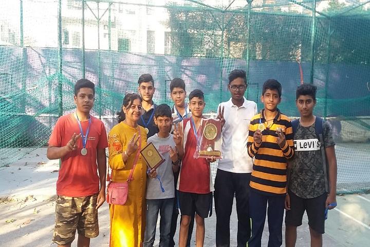 Sri Aurobindo School-Sports