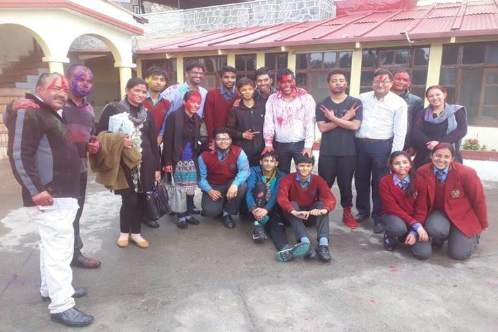 Manava Bharati India International School-Holi Celebrations