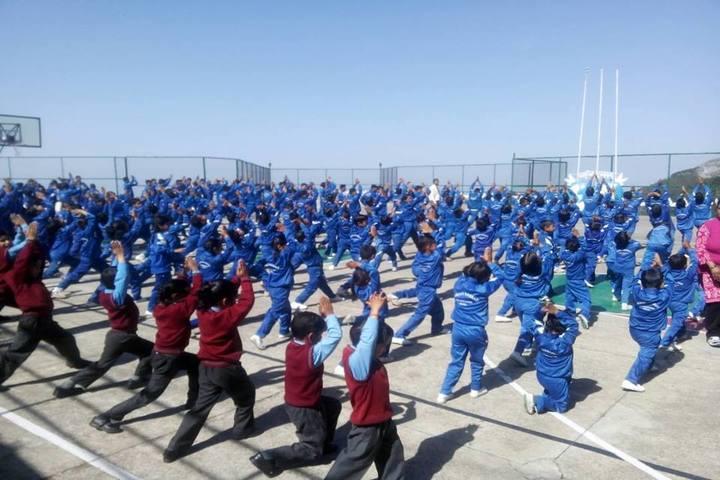 Manava Bharati India International School-Yoga