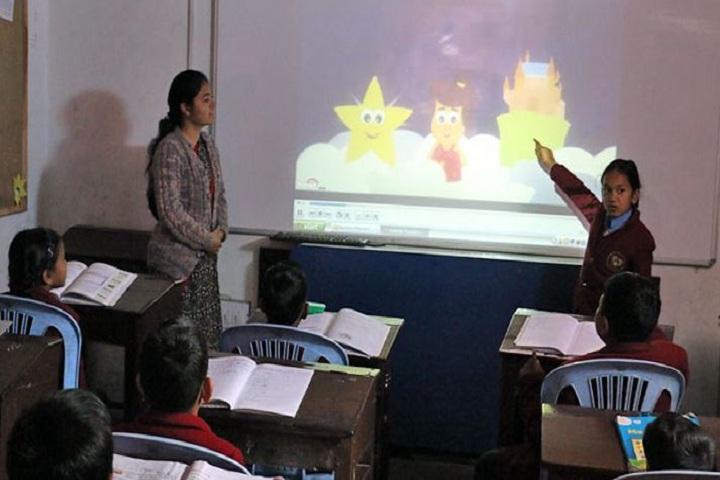 Manava Bharati India International School-Smart Classroom