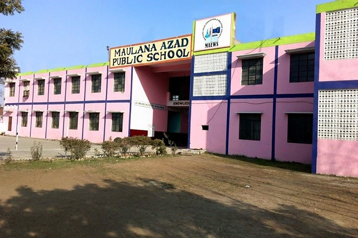 Maulana Azad Public School-Campus View