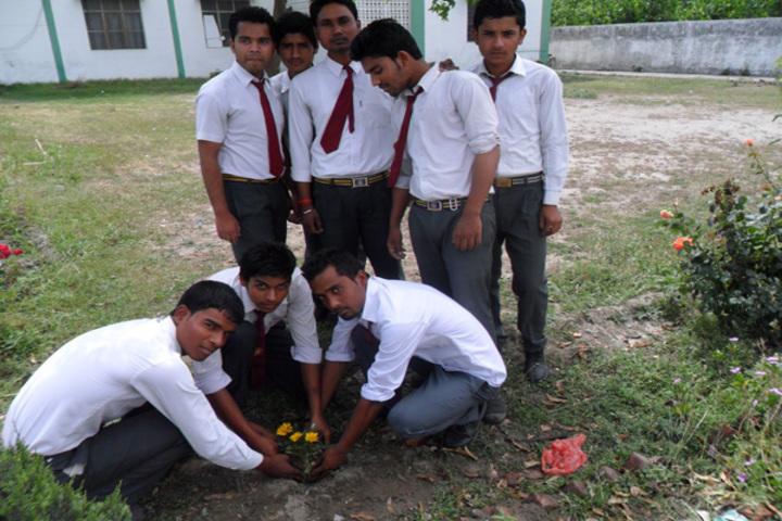 Maulana Azad Public School-Tree Plantation