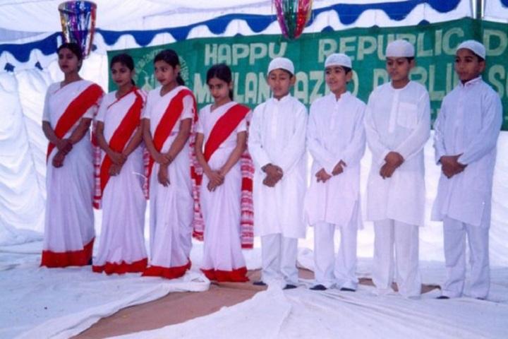 Maulana Azad Public School-Republic Day Celebrations