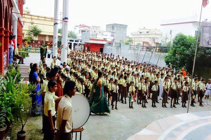 Max International School-Assembly