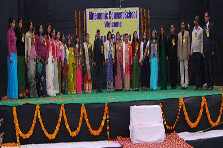 Mnemonic Convent School-Group Photo
