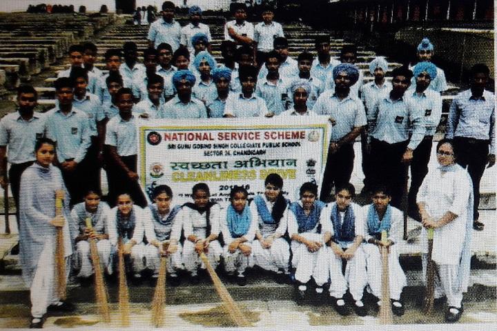 Sri Guru Gobind Singh Collegiate Public School-NSS
