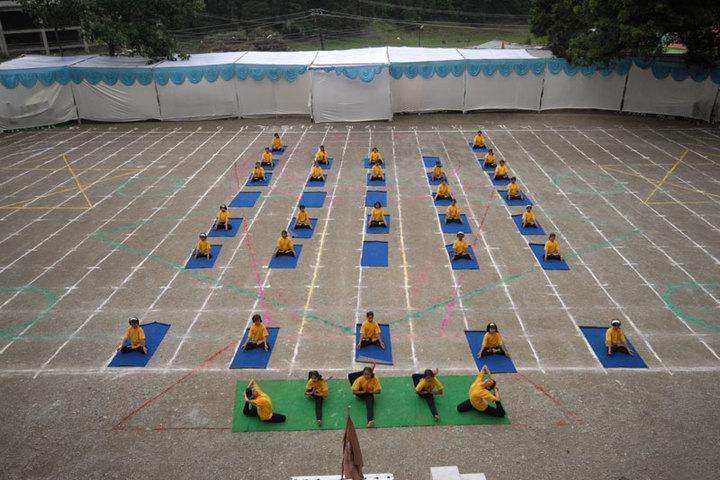 Mohan Lal Sah Bal Vidya Mandir-Yoga