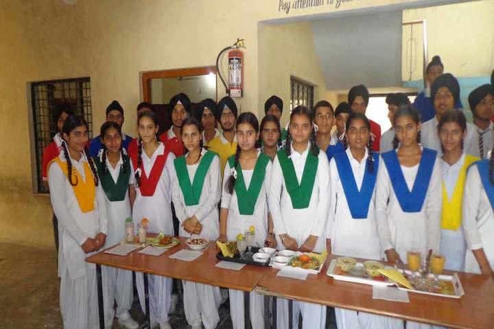 Mohinder Singh Memial Public School-Cooking Activity