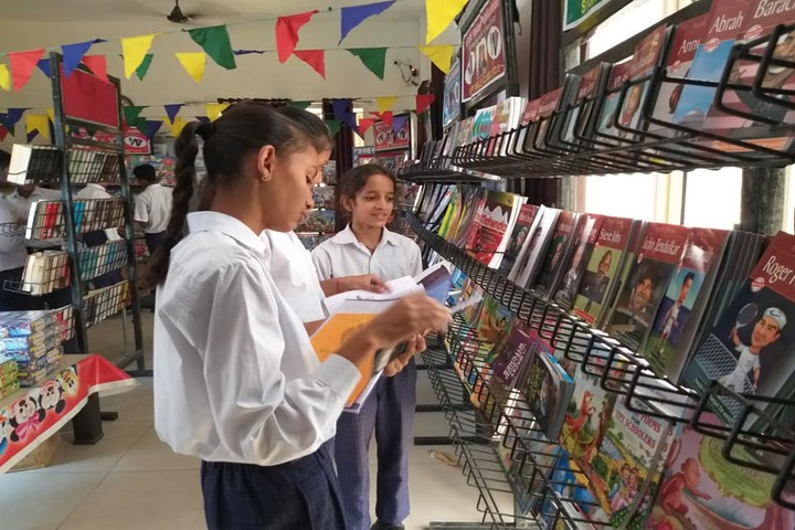 Mother India Global School-Book Exhibition