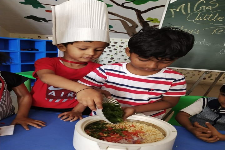 Mother India Global School-Cooking Activity
