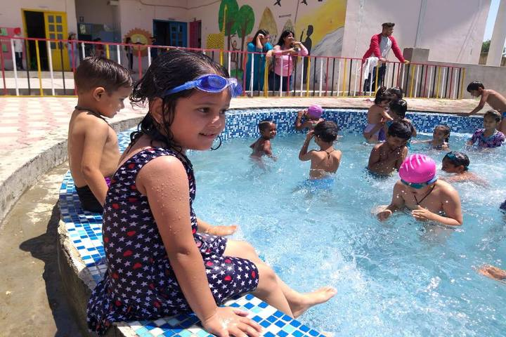 Mother India Global School-Swimming Pool